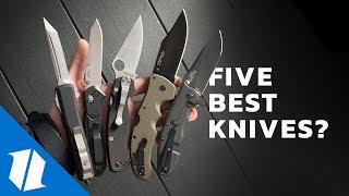 5 Knives Everyone Should Own | Knife Banter Ep. 45