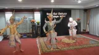 Thai Dancing: The Traditions of Thailand, Khon Thai Masked Dance at Royal Thai Embassy in DC