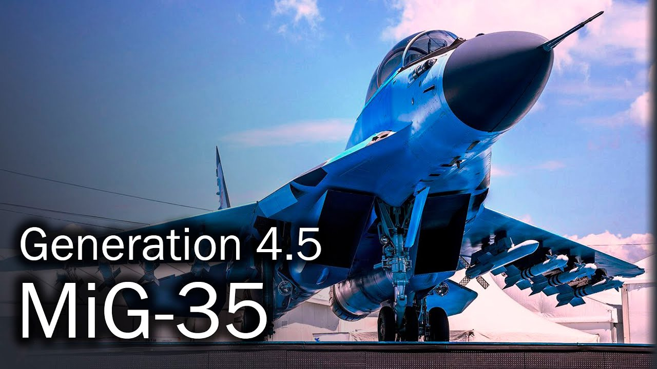 MiG-35 - the new generation of a legend - YouTube