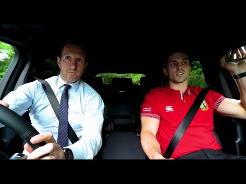 Tracking the Lions: Greenwood chauffeurs George North | Land Rover