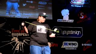 C3yoyodesign Presents: EYYC 2013 5A Division 11th - Miklos Pardy