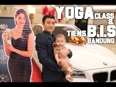 Yoga Class & Tiens Business Invitation Seminar Bandung [HD]