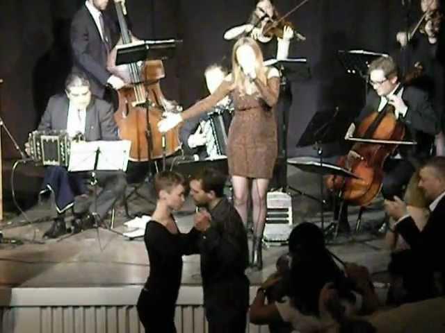 Romina Bianco y Orquesta Tipica Tangarte Malmo, Suecia