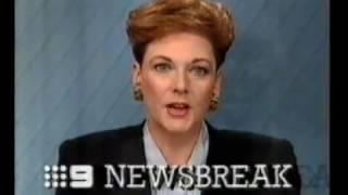 1991 Channel 9 Perth Newsbreak & Commercials