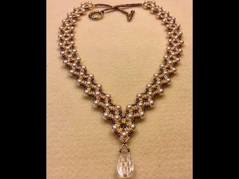 Dressy Diamonds Necklace Tutorial