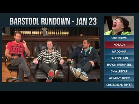 Barstool Rundown - January 23, 2017