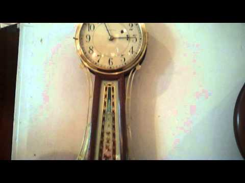 Richard Hills- Hill's Antique Clocks - Waltham Banjo Clock