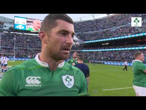 Irish Rugby TV: Rob Kearney On  Winning At Soldier Field