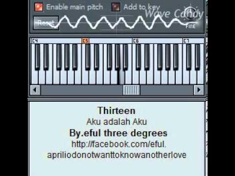 Thirteen- Aku Adalah Aku (synth cover)