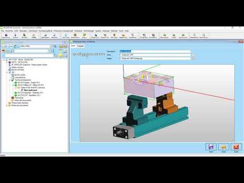 Edgecam Interface | WORKPLAN