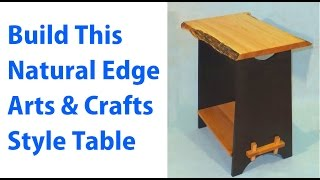 Building An Arts & Crafts Style Table - A Woodworkweb.com Video