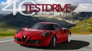 Alfa Romeo 4C - Road Test Drive