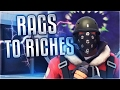 TF2 Rags To Riches #11 - Huge Risky Trade (Buying A Rare Unusual)