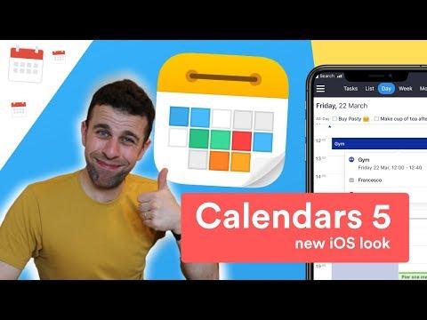 Calendars 5 Has IOS New Look & Recap