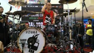 Ikmal Tobing solo drum @solo