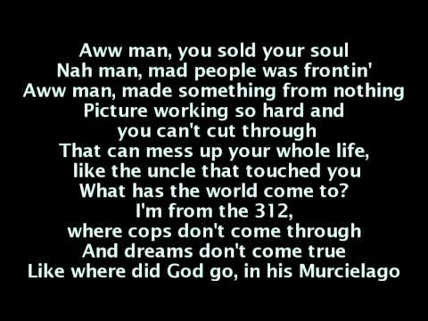 Kanye West - New God Flow ft. Pusha T (Lyrics On Screen)