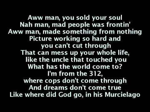 Kanye West  New God Flow ft Pusha T Lyrics On Screen