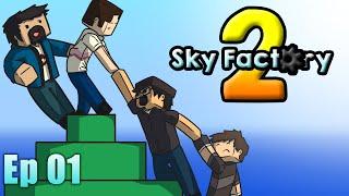Sky Factory 2! Ep 1