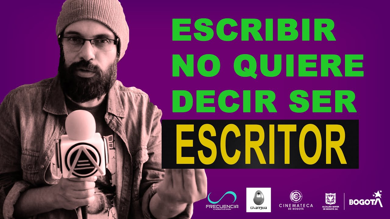 La disciplina de ser escritor por Jerónimo García