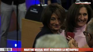 """Martine Vassal veut une métropole """"profondément réformée"""""""