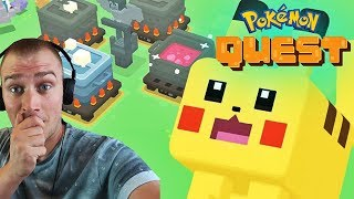 POKEMON QUEST ! LIVE ! - Na żywo