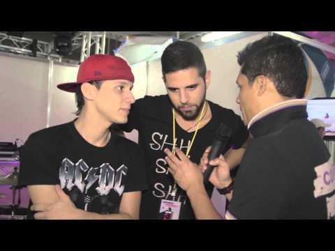 Entrevista Victor X / Planeta Café al Stand de Elias