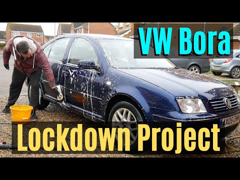 VW Bora 1.9 TDi PD130 Tour And Gets A Clean [Lockdown Project]