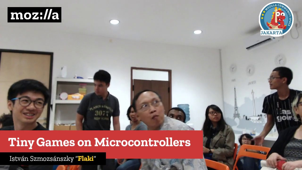 Tiny Games on Microcontrollers Mozilla Indonesia Live Stream