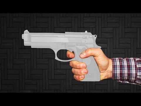 How To Make a Paper Gun that Shoots