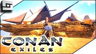 CONAN EXILES GAMEPLAY - Epic Pirate Ship! #7
