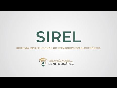 Sistema Institucional de Reinscripción Electrónica (SIREL) 2021