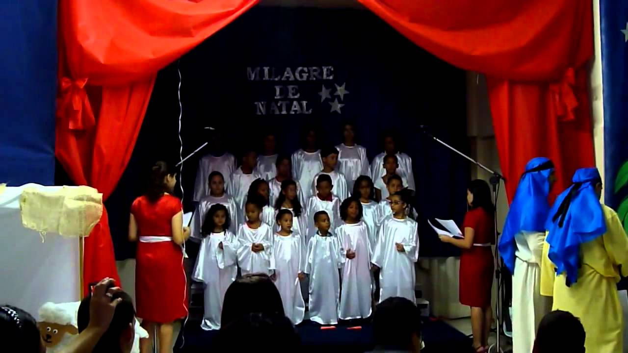 cantata de natal infantil um milagre de natal