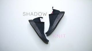 Adidas NMD CS2 TRIPLE BLACK SHADOW KNIT // Black Panther