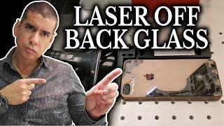 iPhone Back Glass Laser Replacement | Easiest Way How To Repair With Machine