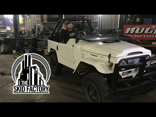 THE SKID FACTORY - V12 Twin Turbo BJ40 LandCruiser [EP9]