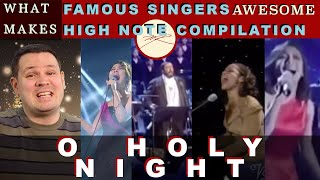 What Makes Famous Singers Singing O Holy Night in HIGHER Version AWESOME? Dr. Marc Reaction