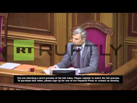 Ukraine: Turchynov named speaker of parliament and acting PM