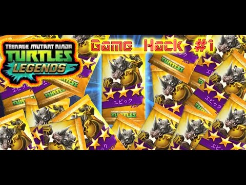 TMNT Legends Hack Play #1 - 30 mins Play For EPIC Cards