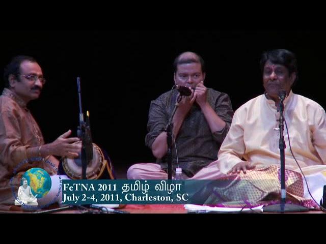 FeTNA 2011 Programs Aathmanathan Concert 1