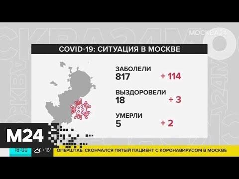 Пятый человек с коронавирусом умер в Москве - Москва 24