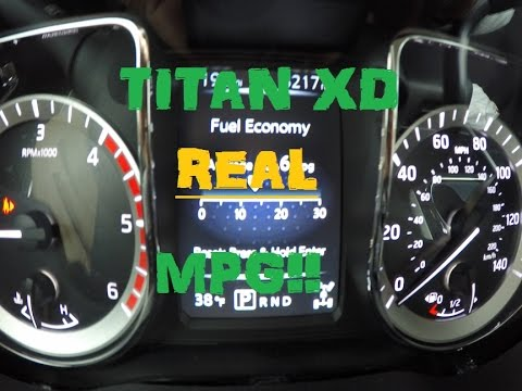 Nissan An Xd Real World Mpg