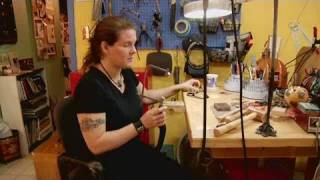 How To Cut Designs In Metal | Jewelry Making