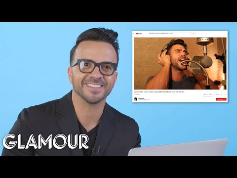 Despacito Singer Luis Fonsi Watches Fan Covers On YouTube | You Sang My Song | Glamour