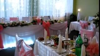 Оформление тканью,цветами,светом,чехлы на стулья, ткань, цветы, шарики, музыка на свадьбу от студии радуга,raduga shop com КДЦ Днепропресс 4,09(, 2013-03-27T19:54:19.000Z)