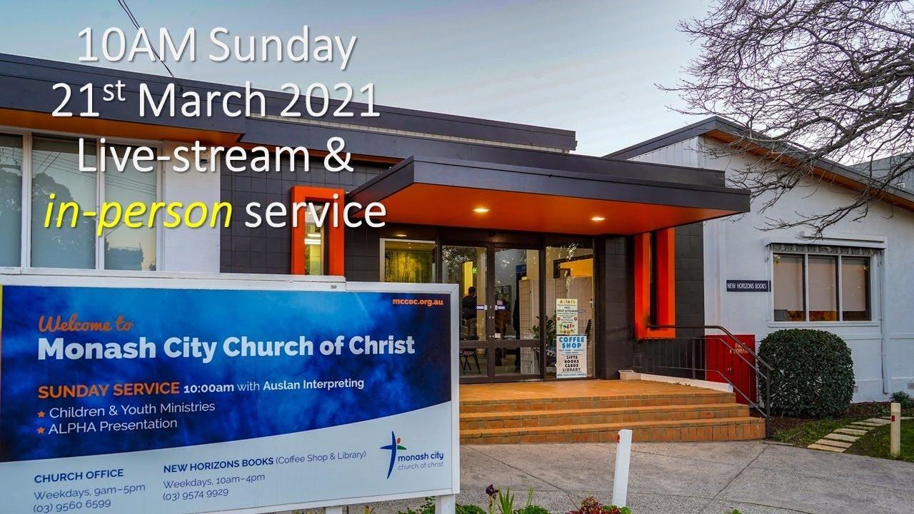 Mar 21st in-person & live stream