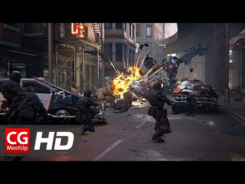 "CGI Cinematic HD ""Unreal Engine 4 Showdown Cinematic VR Demo"" by Epic Games 