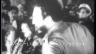 Bay of Pigs Invasion on Fidel Castro and Cuba 1961 Archival Newsreel PublicDomainFootage.com