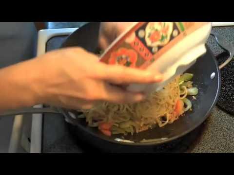 Cooking With Tina Diaz  Stir Fried Saimin Noodle Hawaiian Style