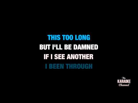 """Ring The Alarm in the Style of """"Beyoncé"""" karaoke video with lyrics (no lead vocal)"""