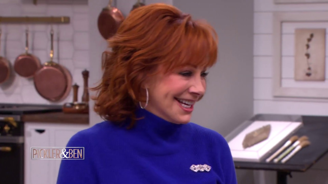 Rapid Fire Questions with Reba McEntire! - Pickler & Ben